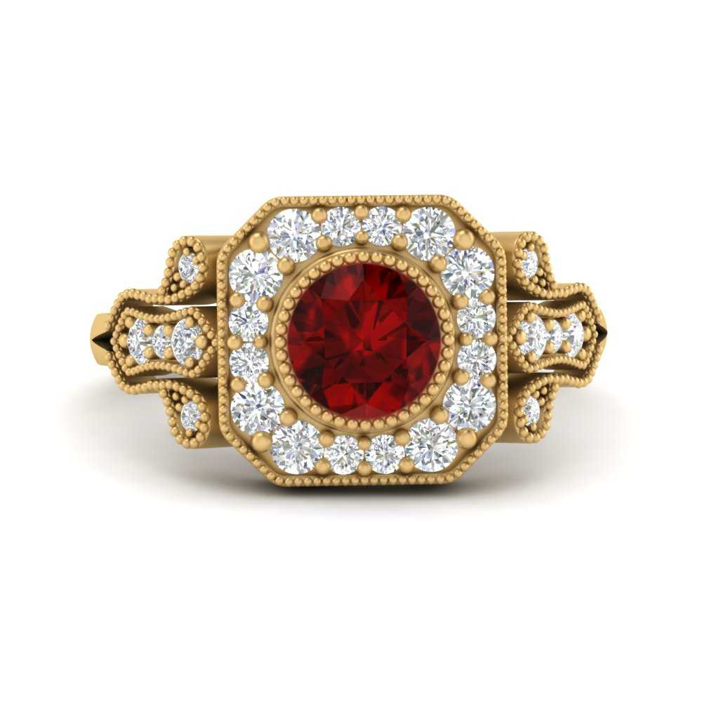 edwardian-round-square-ruby-halo-ring-in-FD9731RORGRD-NL-YG