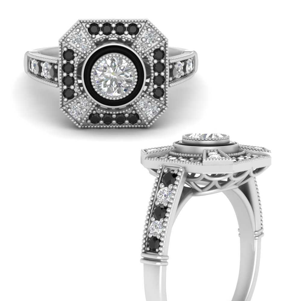 big-antique-black-diamond-engagement-ring-in-FD9732RORGBLACKANGLE3-NL-WG