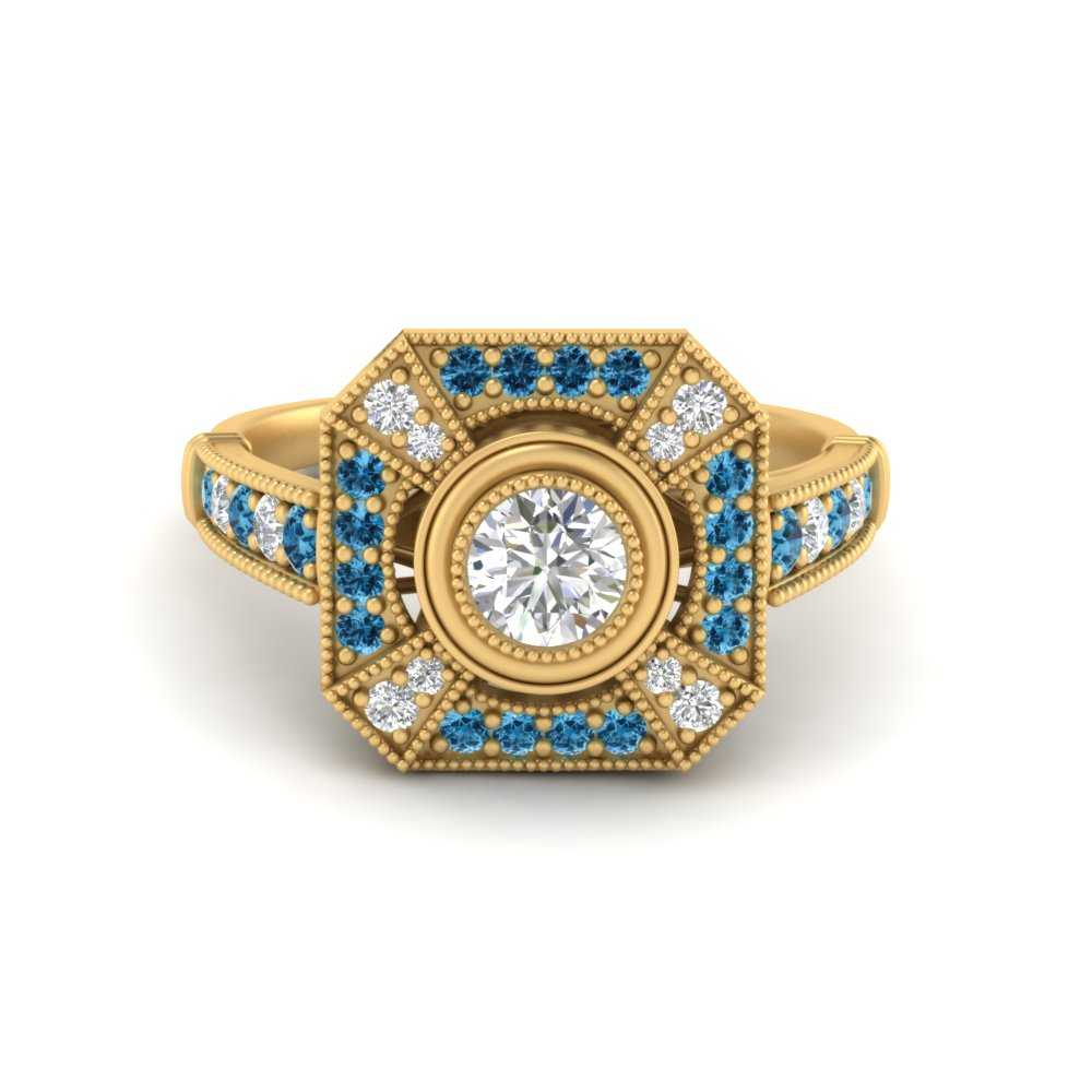 victorian-antique-vintage-blue-topaz-lab diamond engagement-ring-in-FD9732RORGICBLTO-NL-YG