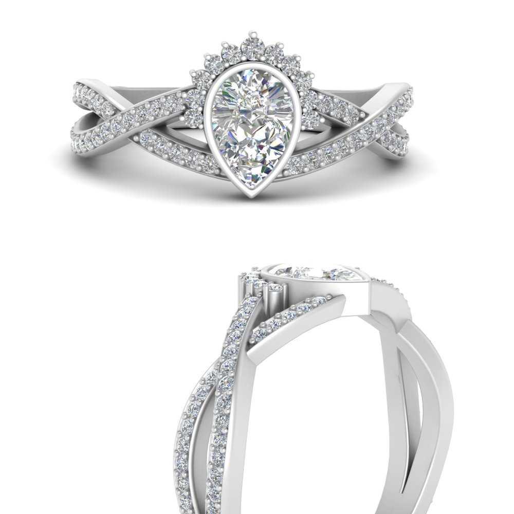 bezel-set-pear-split-band-crown-diamond-engagement-ring-in-FD9734PERANGLE3-NL-WG
