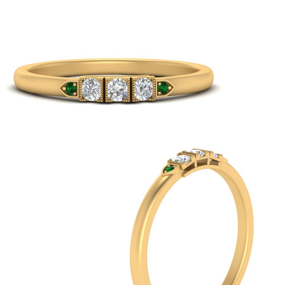 art-deco-thin-emerald-wedding-band-in-FD9735BGEMGRANGLE3-NL-YG
