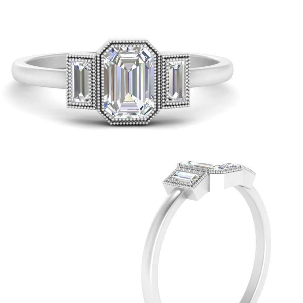 bezel-set-baguette-three-stone-diamond-engagement-ring-in-FD9745EMRANGLE3-NL-WG