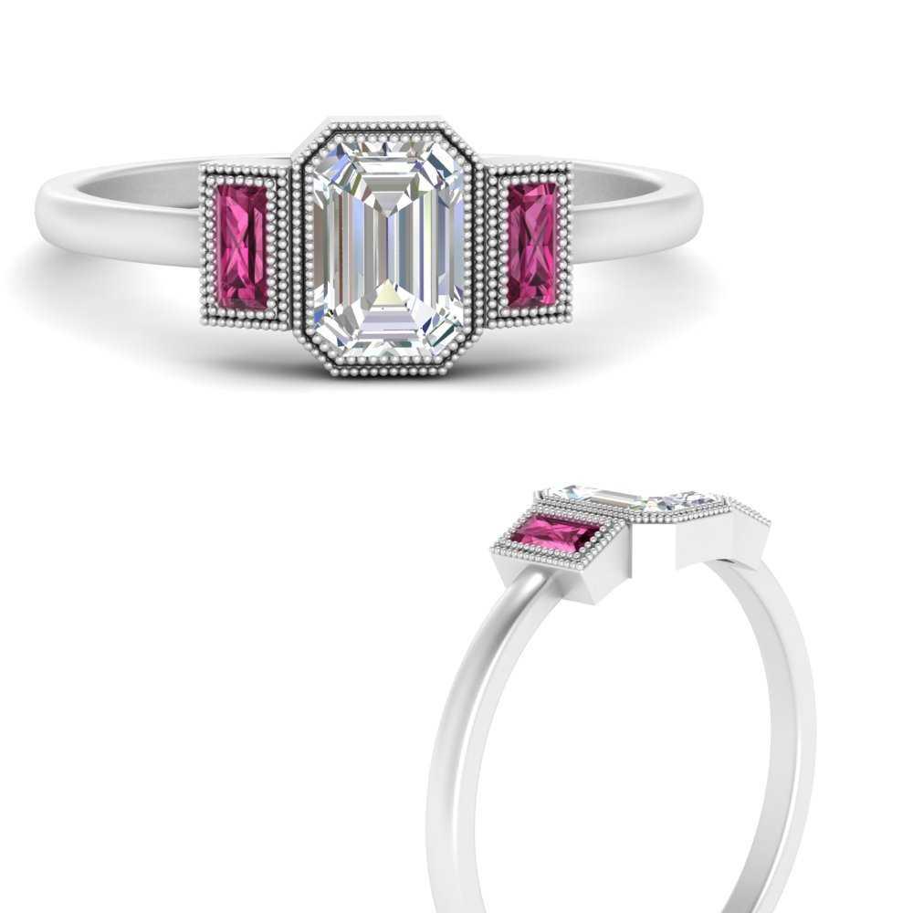 bezel-set-baguette-three-stone-pink-sapphire-engagement-ring-in-FD9745EMRGSADRPIANGLE3-NL-WG