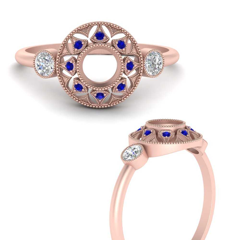 semi-mount-halo-diamond-milgrain-engagement-ring-with-sapphire-in-FD9747MRGSABLANGLE3-NL-RG