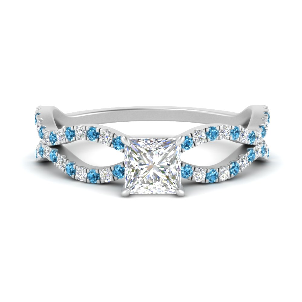 princess-cut-pave-split-wave-diamond-engagement-ring-with-blue-topaz-in-FD9749PRRGICBLTO-NL-WG