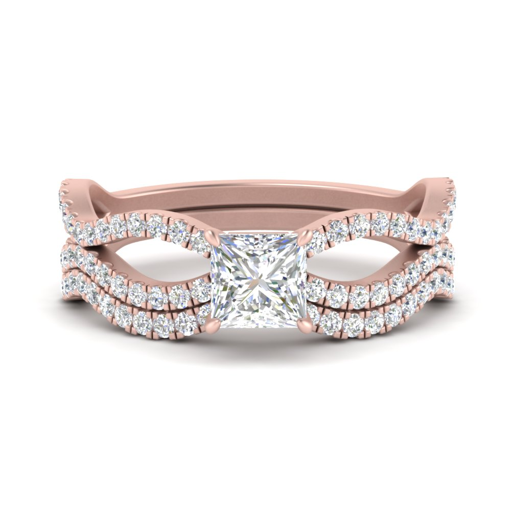 princess-cut-vintage-twisted-diamond-bridal-ring-set-in-FD9749PR-NL-RG