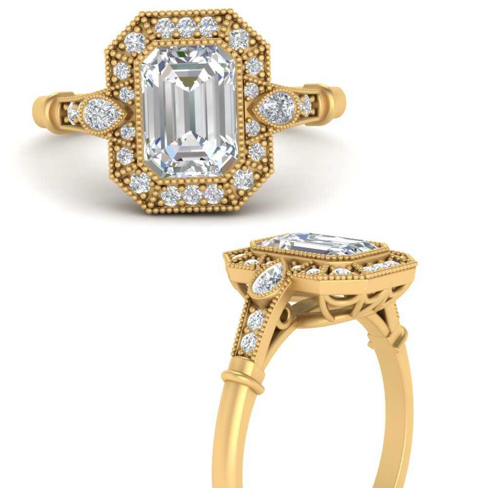 art-deco-emerald-cut-lab diamond-engagement-ring-in-FD9760EMRANGLE3-NL-YG