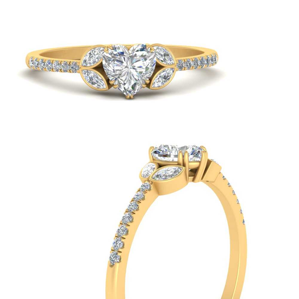 Marquise-accented-heart-shaped-diamond-vintage-engagement-ring-in-FDENR2765HTRANGLE3-NL-YG
