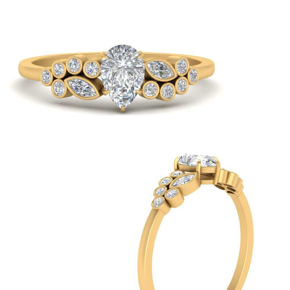 unique-pear-cluster-bezel-diamond-engagement-ring-in-FD9777PERANGLE3-NL-YG