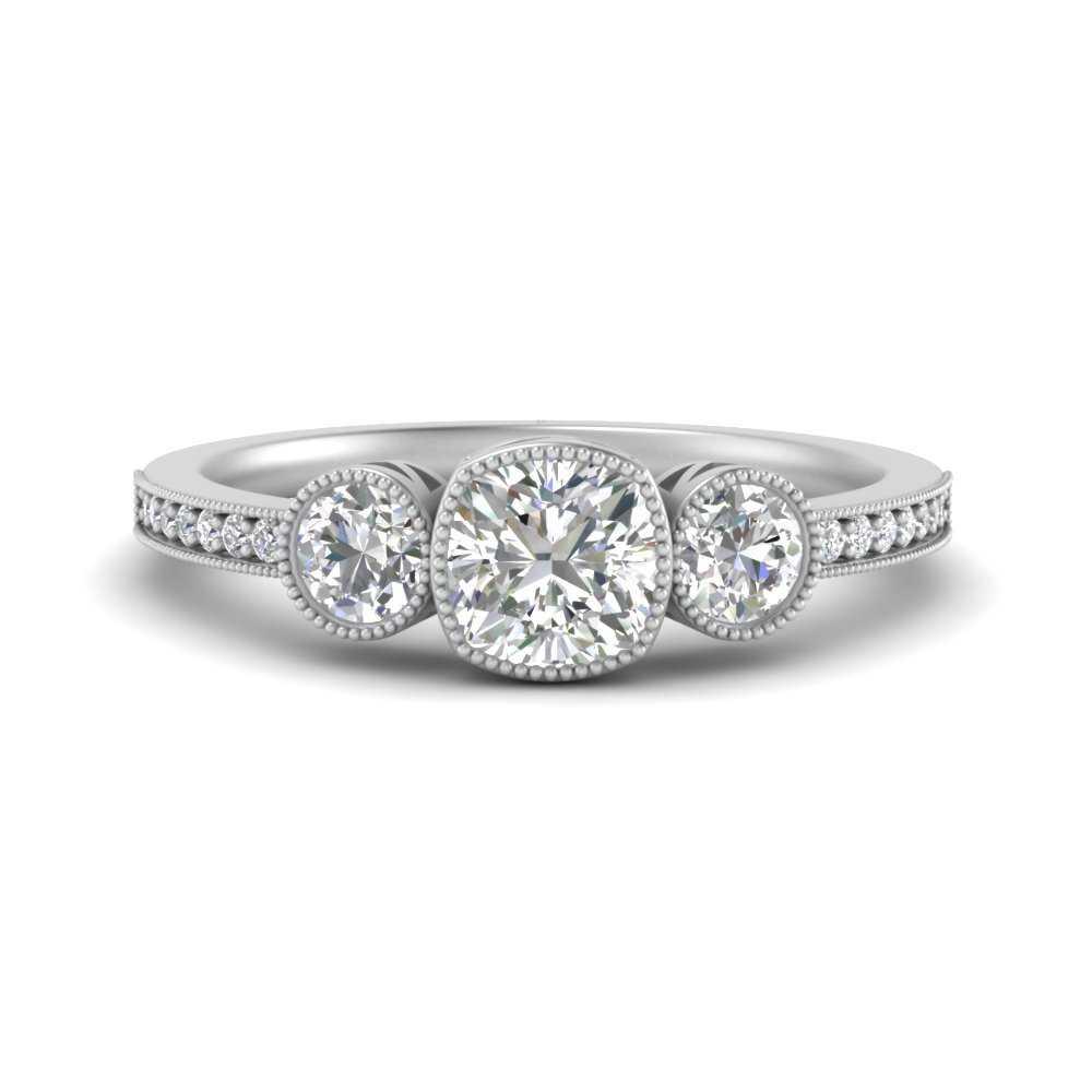 3-stone-cushion-cut-art-deco-bezel-set-diamond-engagement-ring-in-FD9800CUR-NL-WG