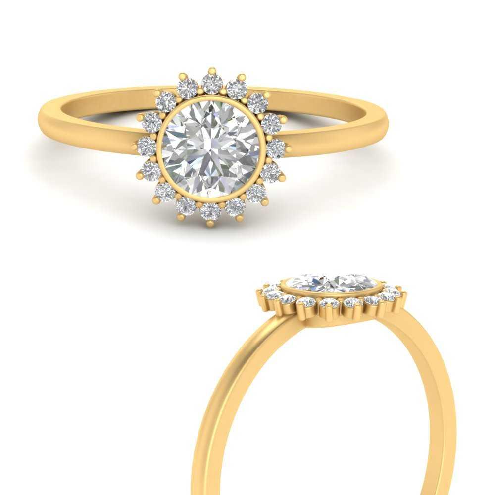 bezel-sunburst-halo-diamond-engagement-ring-in-FD9803RORANGLE3-NL-YG