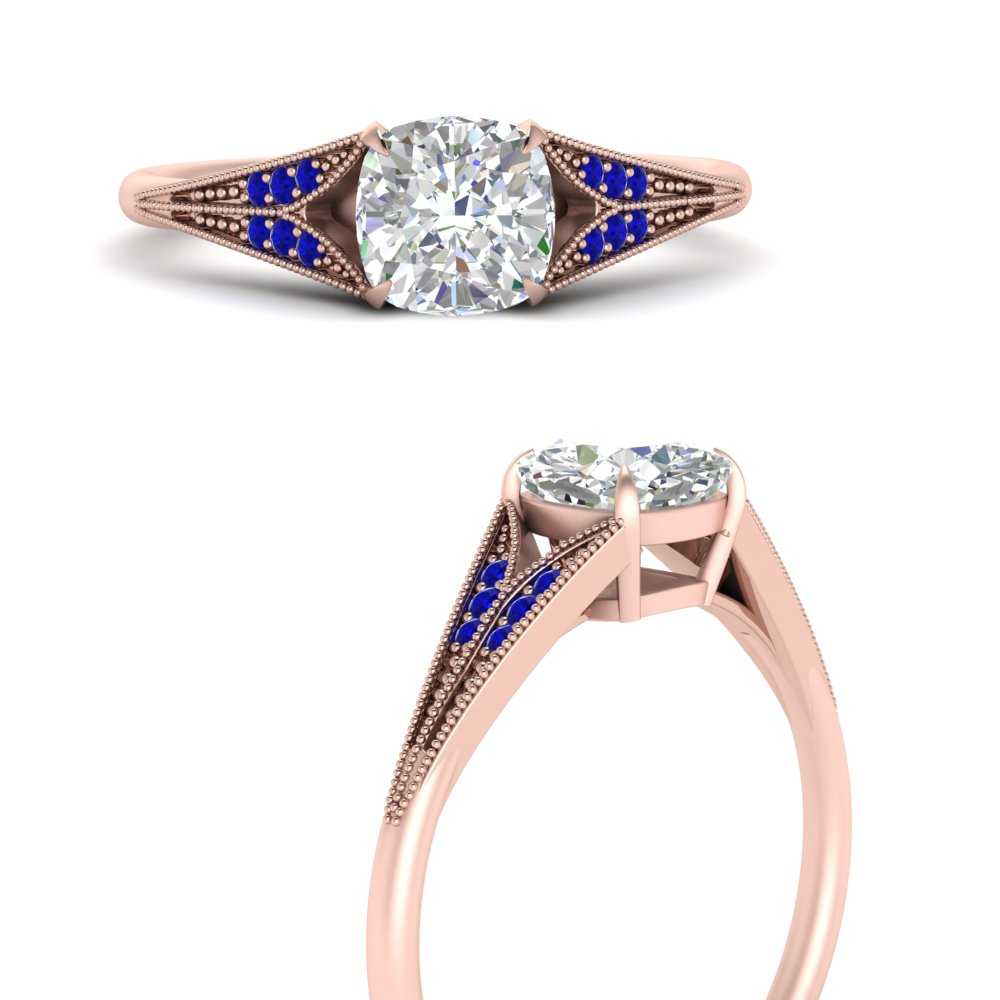 cushion-cut-sapphire-split-shank-antique-engagement-ring-in-FD9813CURGSABLANGLE3-NL-RG