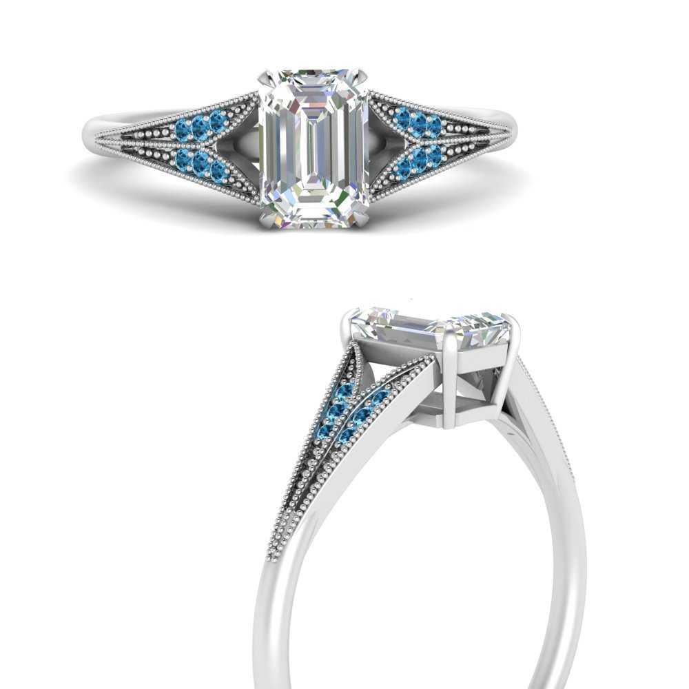 emerald-cut-blue-topaz-split-shank-antique-engagement-ring-in-FD9813EMRGICBLTOANGLE3-NL-WG
