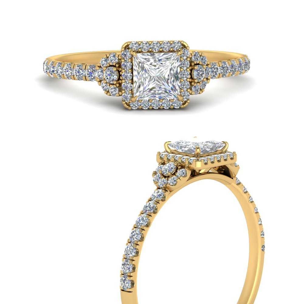 princess-cut-halo-accented-diamond-engagement-ring-in-FD9821PRRANGLE3-NL-YG