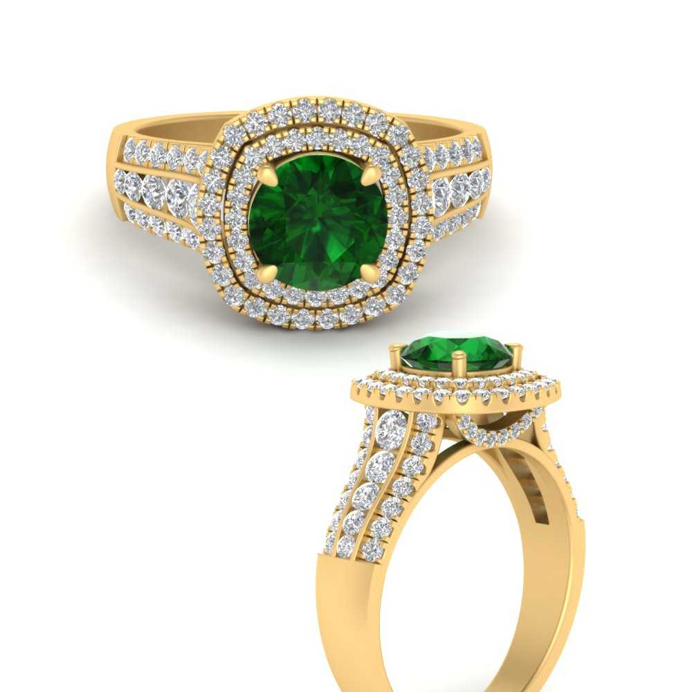 double-halo-big-emerald-engagement-ring-in-FD9824RORGEMANGLE3-NL-YG