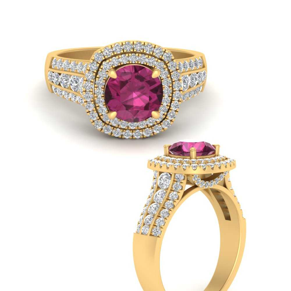 double-halo-big-pink-sapphire-engagement-ring-in-FD9824RORGPSANGLE3-NL-YG