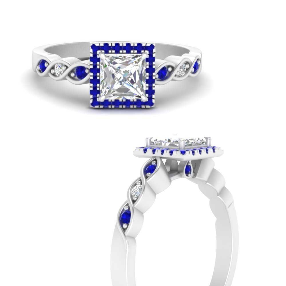 princess-cut-halo-infinity-sapphire-engagement-ring-in-FD9831PRRGSABLANGLE3-NL-WG