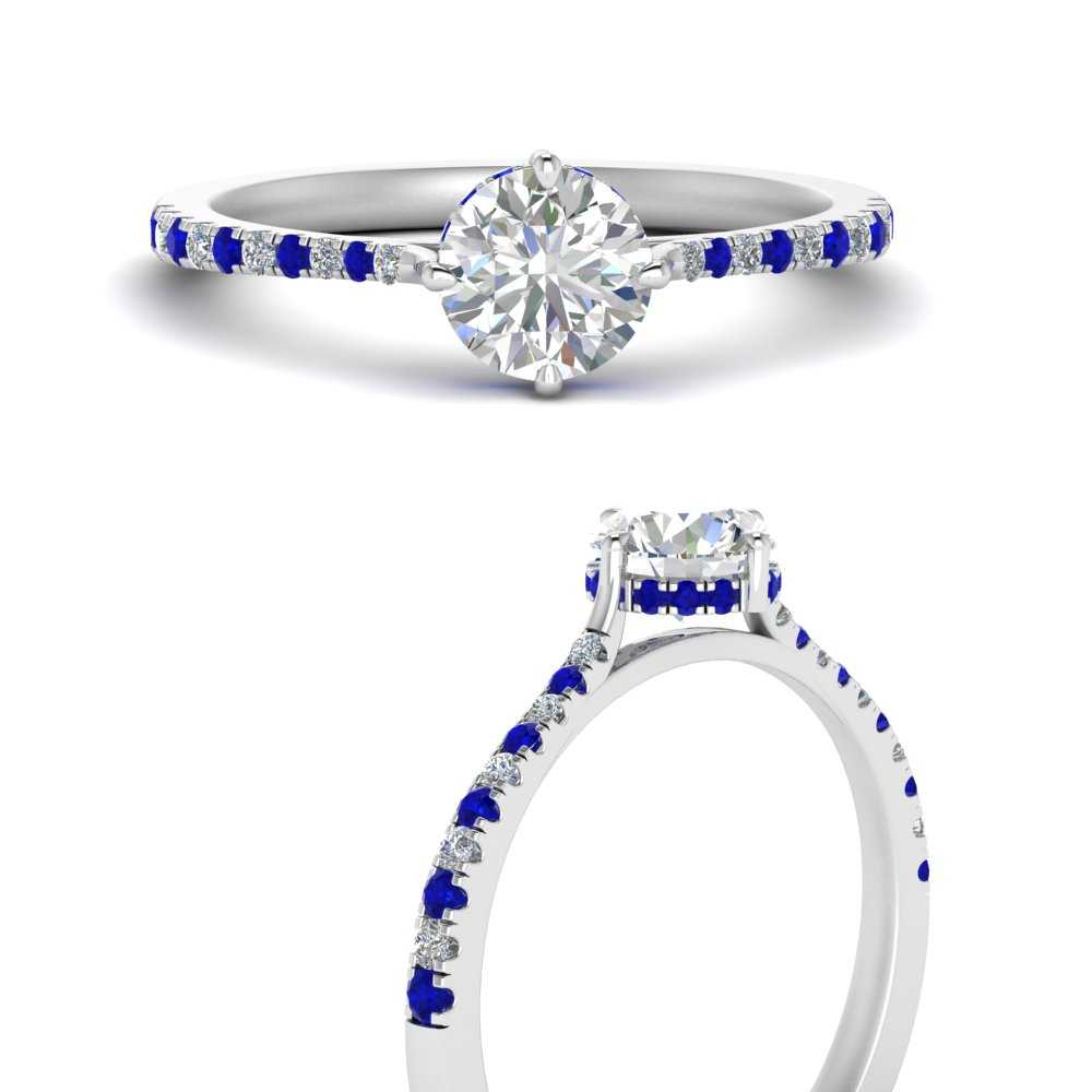 compass-point-under-halo-diamond-round-engagement-ring-with-sapphire-in-FD9833RORGSABLANGLE3-NL-WG