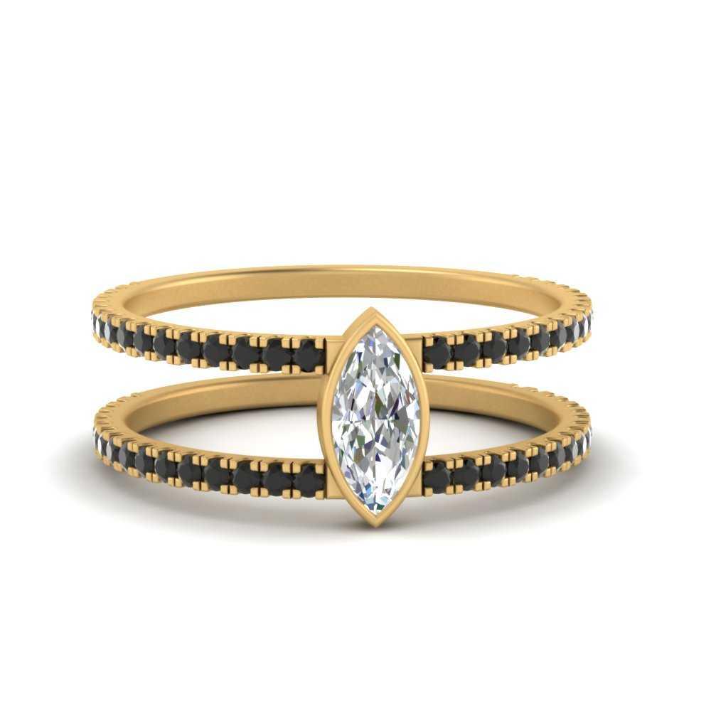 marquise-bezel-set-black-diamond-engagement-ring-in-FD9834MQRGBLACK-NL-YG