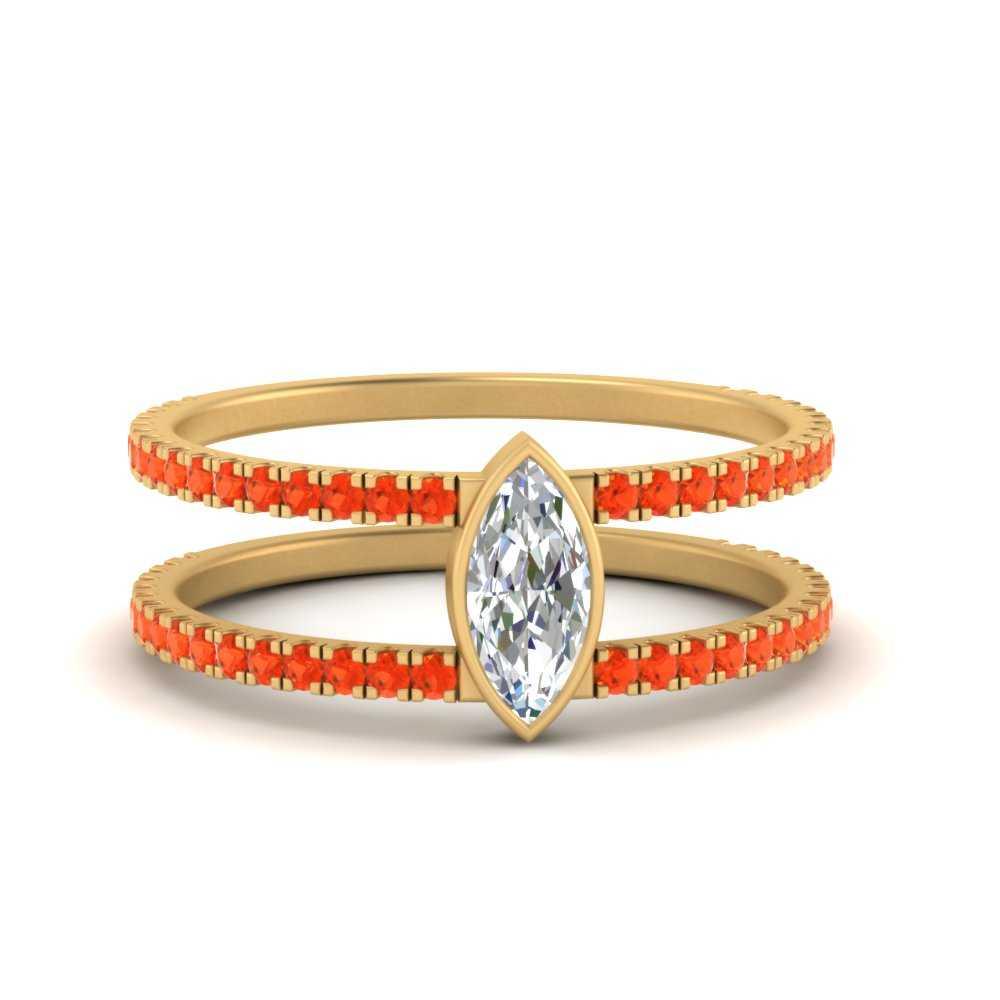 marquise-bezel-set-orange-topaz-engagement-ring-in-FD9834MQRGPOTO-NL-YG