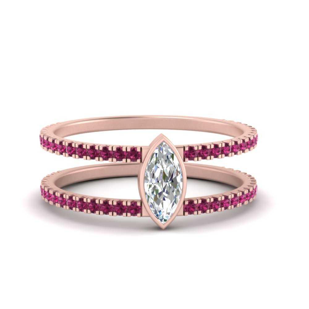 marquise-bezel-set-pink-sapphire-engagement-ring-in-FD9834MQRGSADRPI-NL-RG