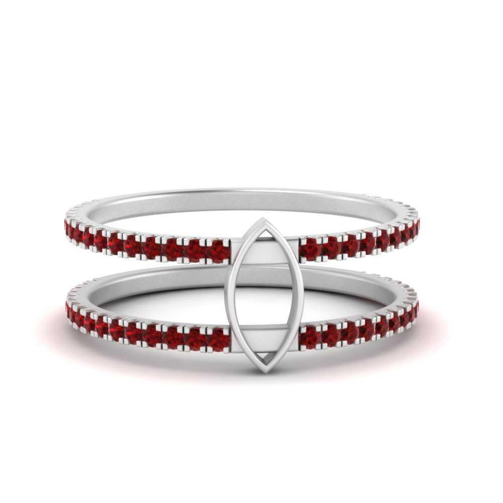 semi-mount-bezel-set-ruby-engagement-ring-in-FD9834SMRGRUDR-NL-WG