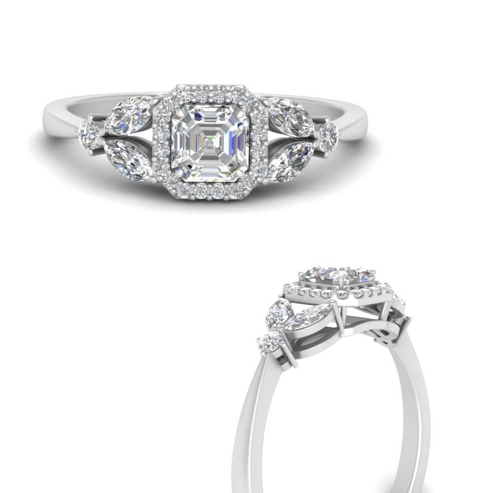 marquise-and-asscher-diamond-halo-engagement-ring-in-FD9841ASRANGLE3-NL-WG