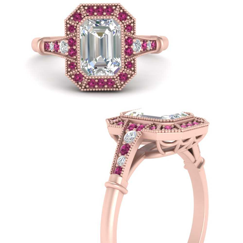 cathedral-art-deco-emerald-cut-pink-sapphire-engagement-ring-in-FD9847EMRGSADRPIANGLE3-NL-RG