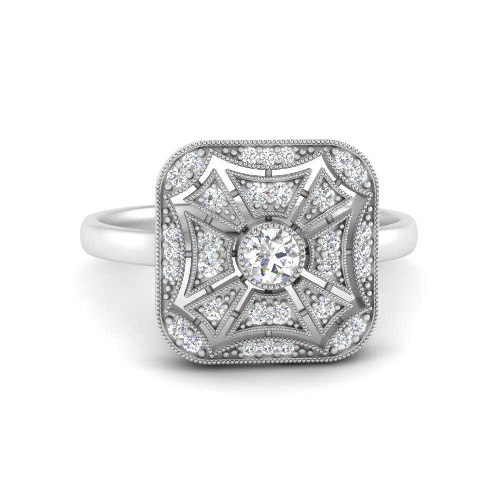 square-antique-diamond-engagement-ring-in-FD9850ROR-NL-WG