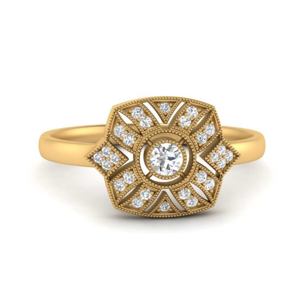 square-edwardian-vintage-halo-diamond-engagement-ring-in-FD9854ROR-NL-YG