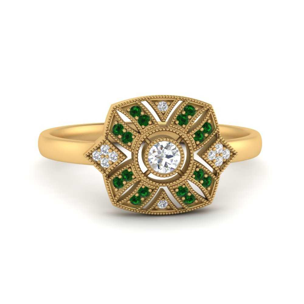 square-edwardian-vintage-halo-emerald-engagement-ring-in-FD9854RORGEMGR-NL-YG