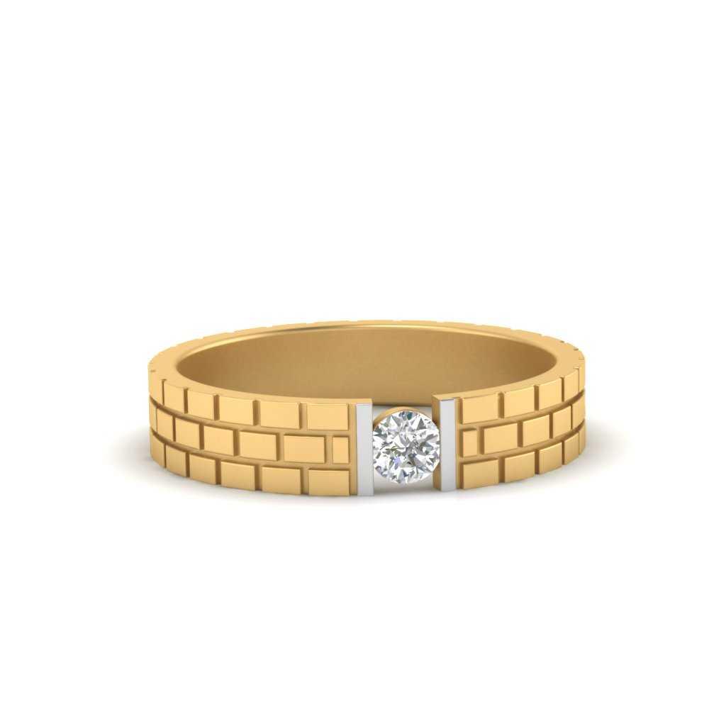 brick-round-diamond-mens-wedding-band-in-FD9868ROR-NL-YG