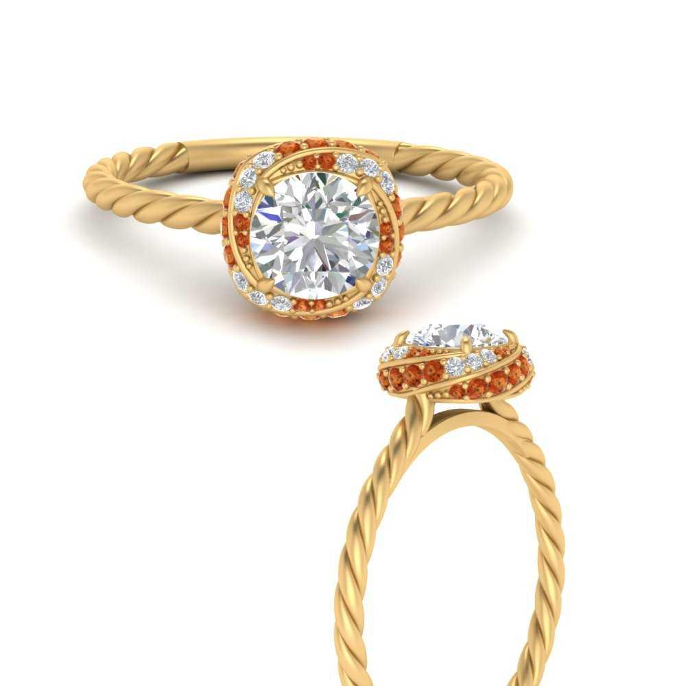 twisted-halo-rope-round-cut-orange-sapphire-engagement-ring-in-FD9871RORGSAORANGEL3-NL-YG