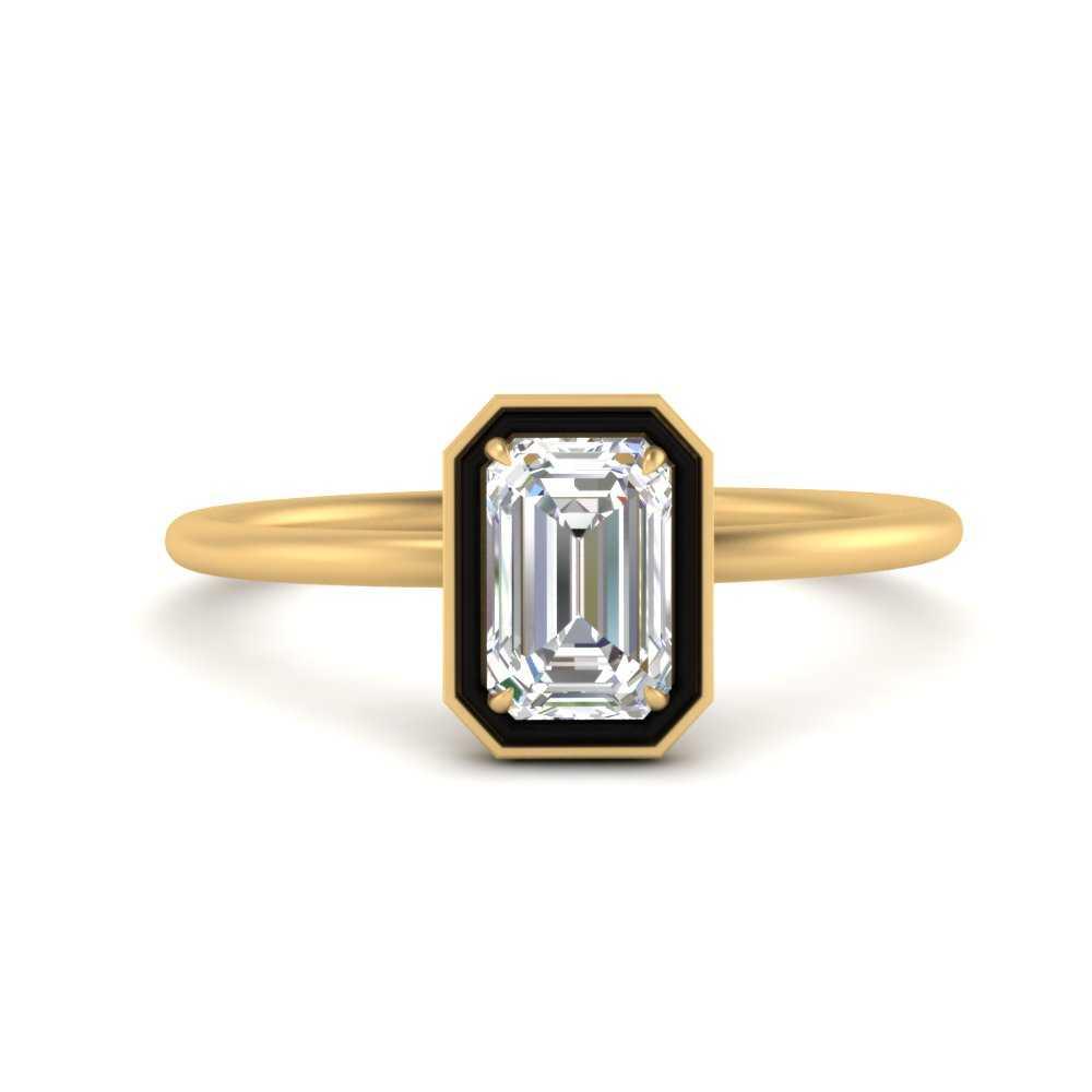 emerald-cut-solitaire-enamel-diamond-ring-in-FD9880EMR-NL-YG