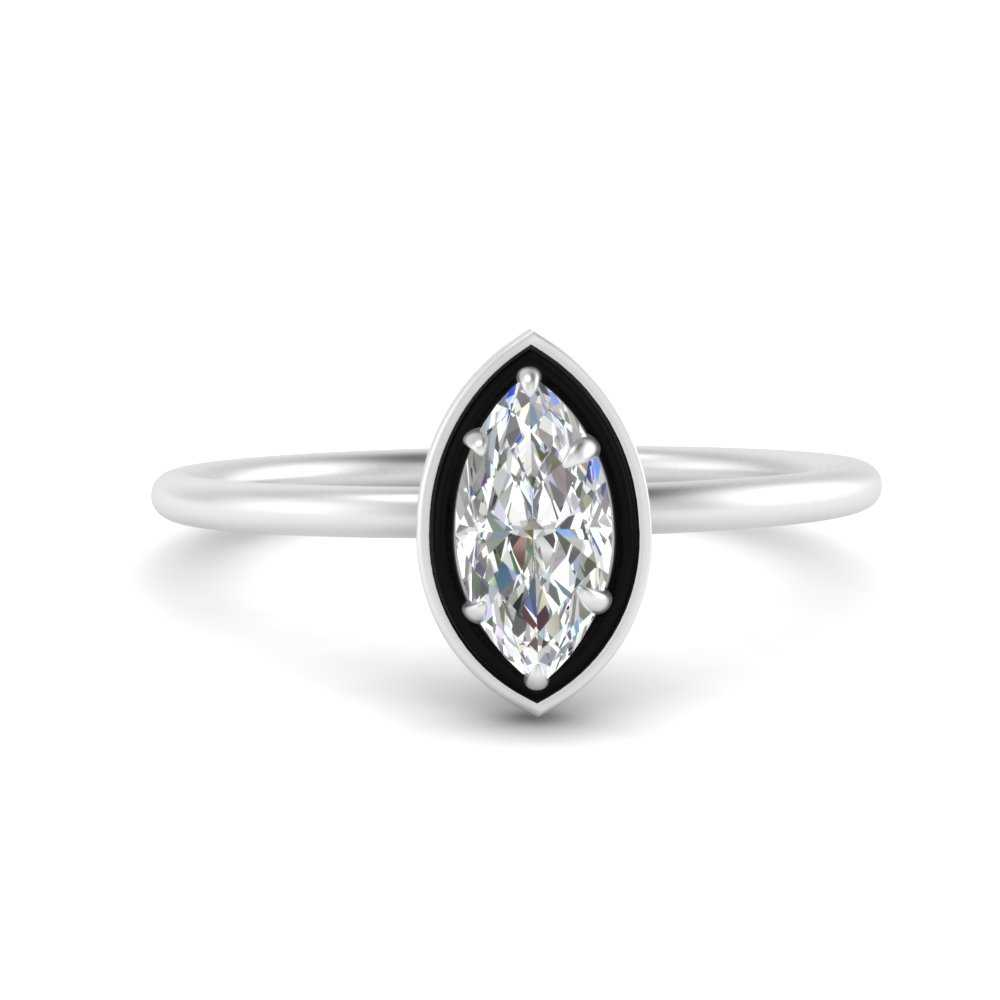 marquise-cut-solitaire-enamel-diamond-ring-in-FD9880MQR-NL-WG