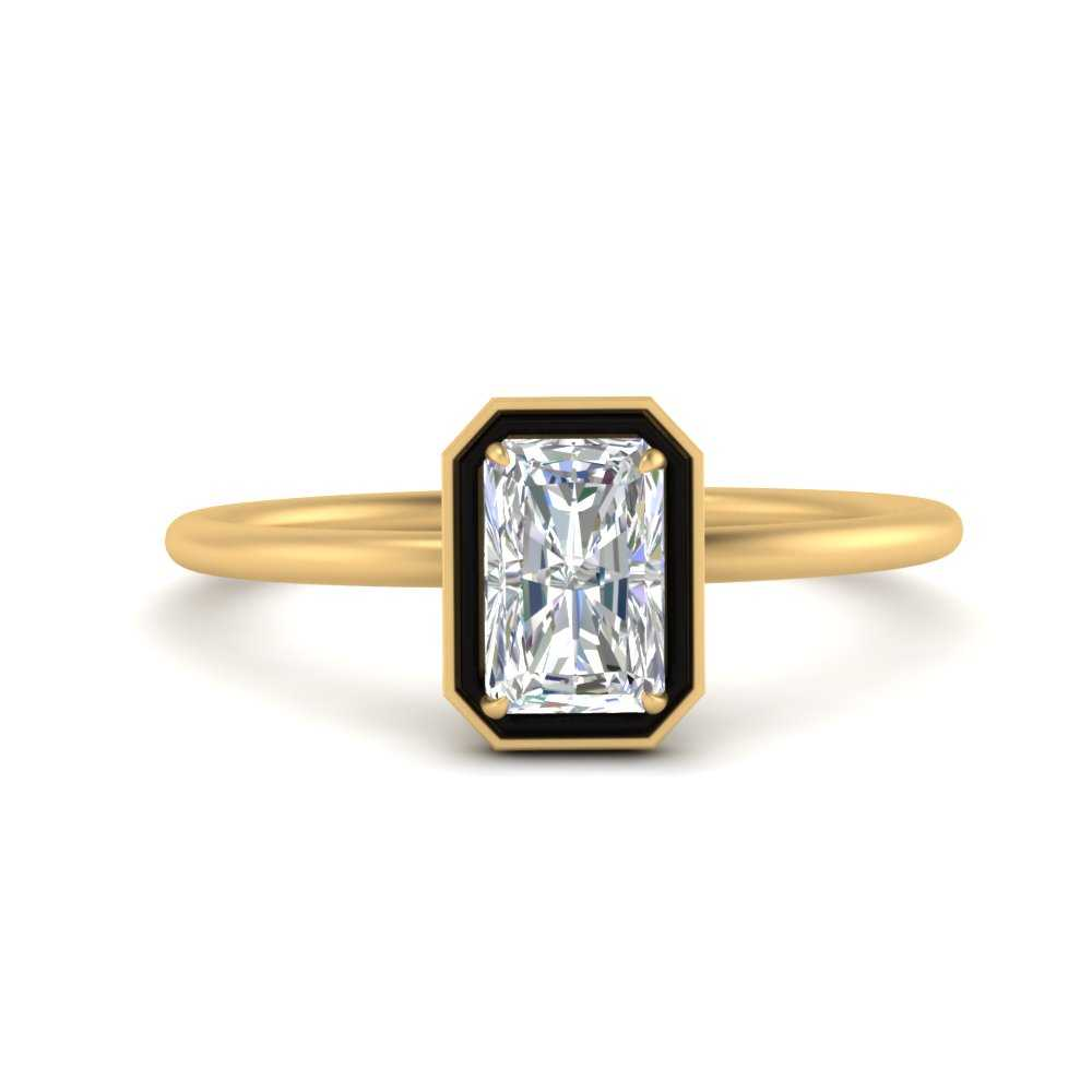 radiant-cut-solitaire-enamel-diamond-ring-in-FD9880RAR-NL-YG