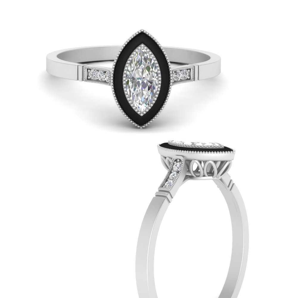 marquise-enamel-cathedral-diamond-engagement-ring-in-FD9885MQRANGEL3-NL-WG