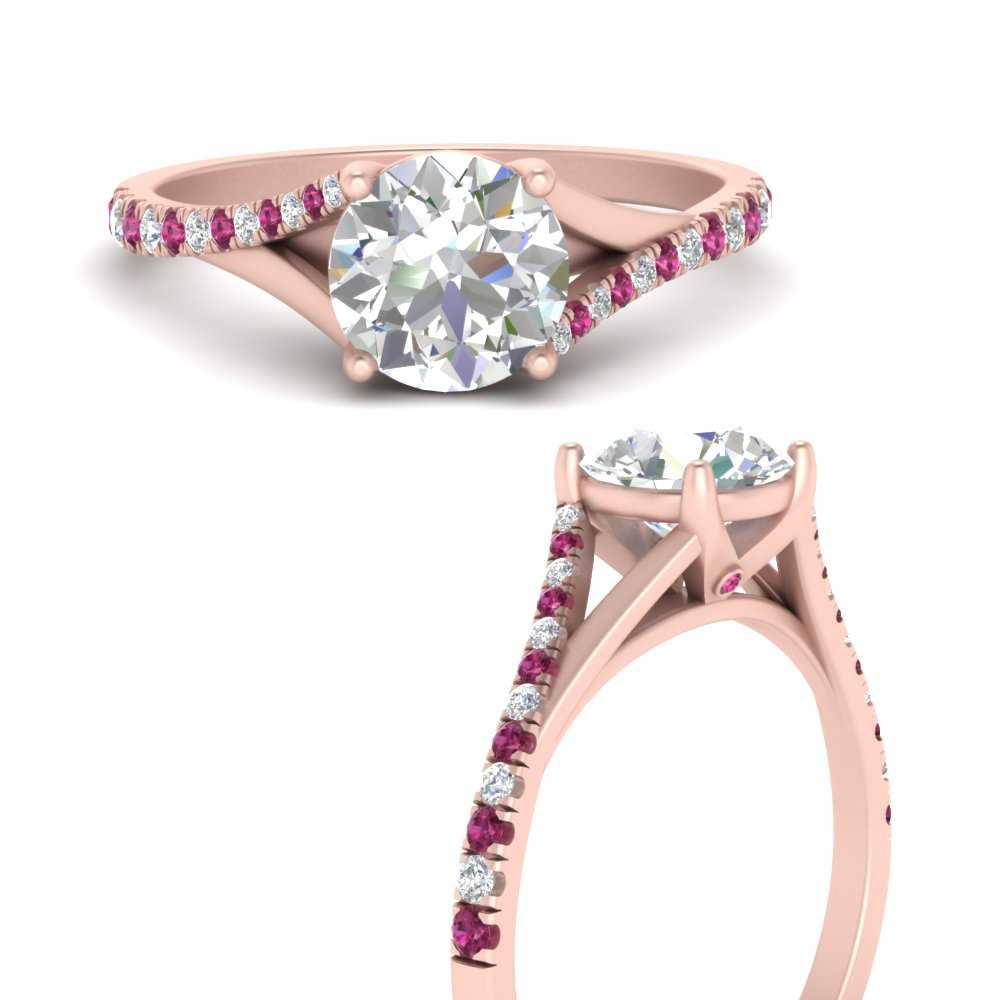 split-shank-pave-round-engagement-diamond-ring-with-pink-sapphire-in-FD9963RORGSADRPIANGLE3-NL-RG