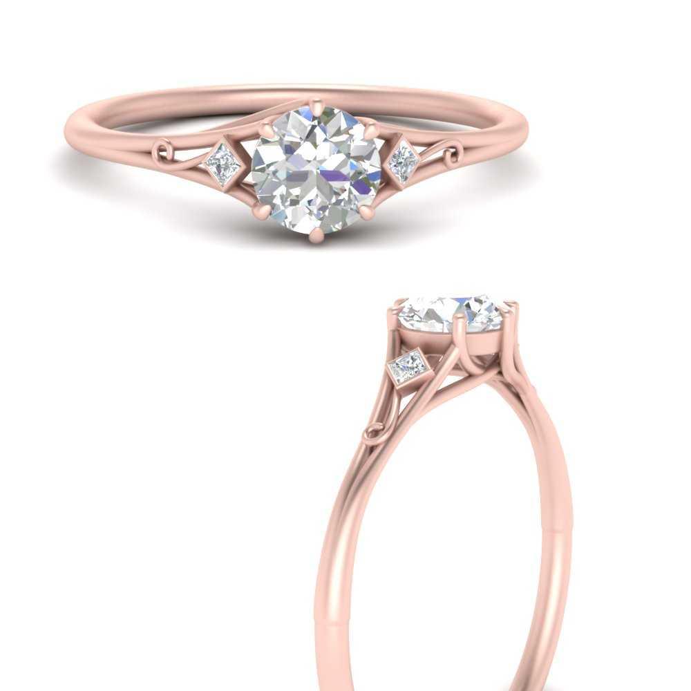 round-three-stone-vintage-engagement-ring-in-FD9985RORANGLE3-NL-RG