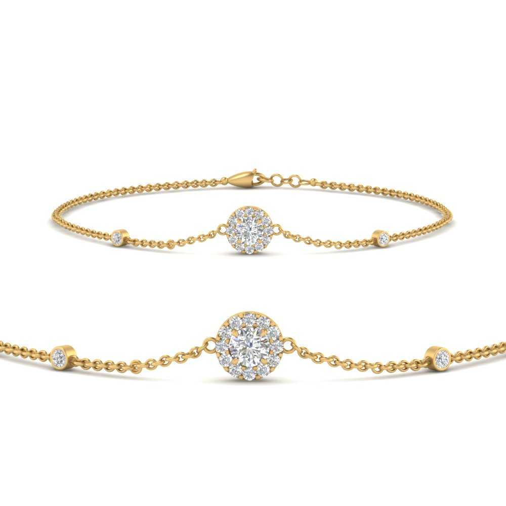 round-halo-chain-diamond-bracelet-in-FDBRC9637ANGLE2-NL-YG