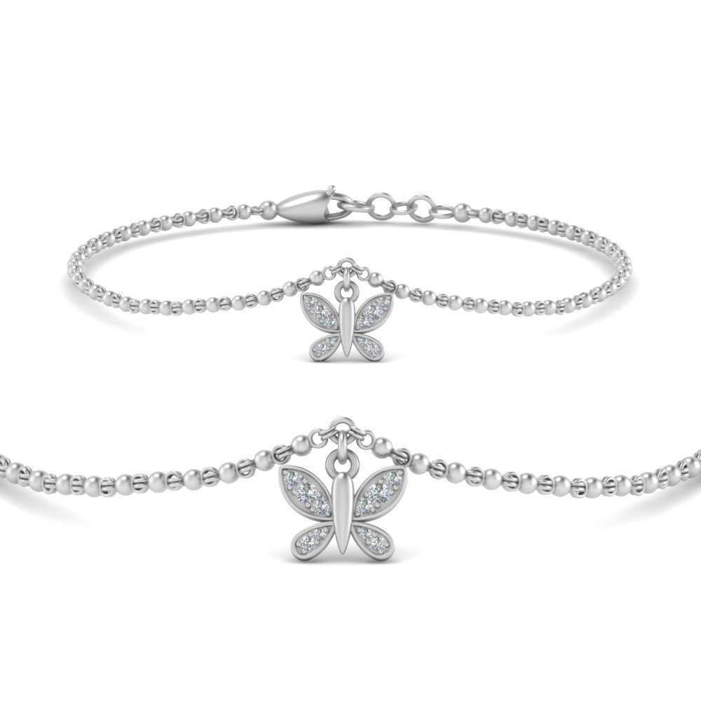 butterfly-cute-chain-diamond-bracelet-in-FDBRC9755ANGLE2-NL-WG