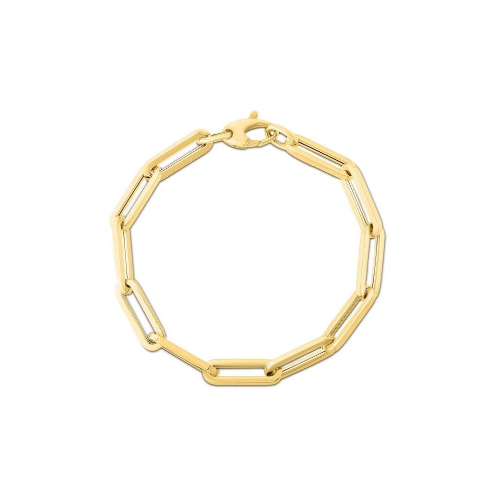 oval-rectangular-clip-gold-bracelet-in-FDBRRC11168ANGLE1-6.1-NL-YG