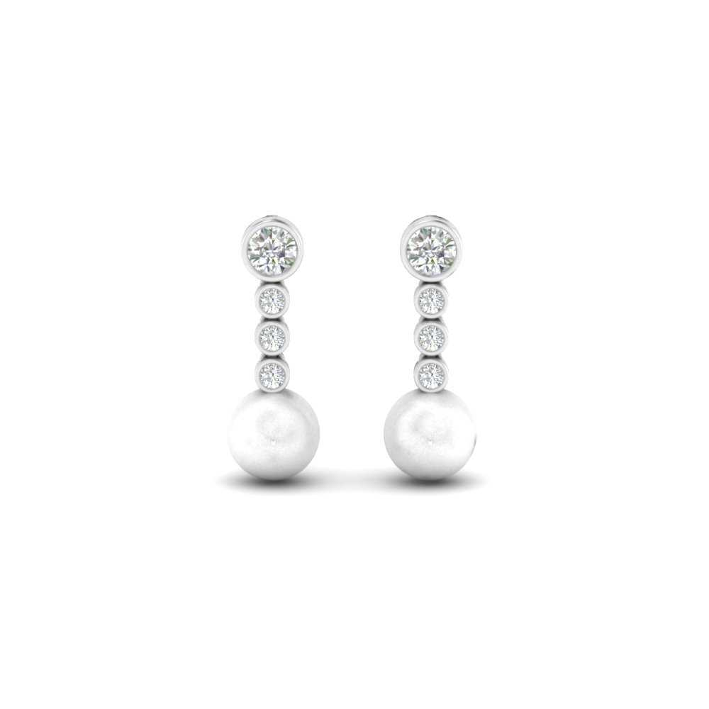 Pearl Drop Cocktail Earring
