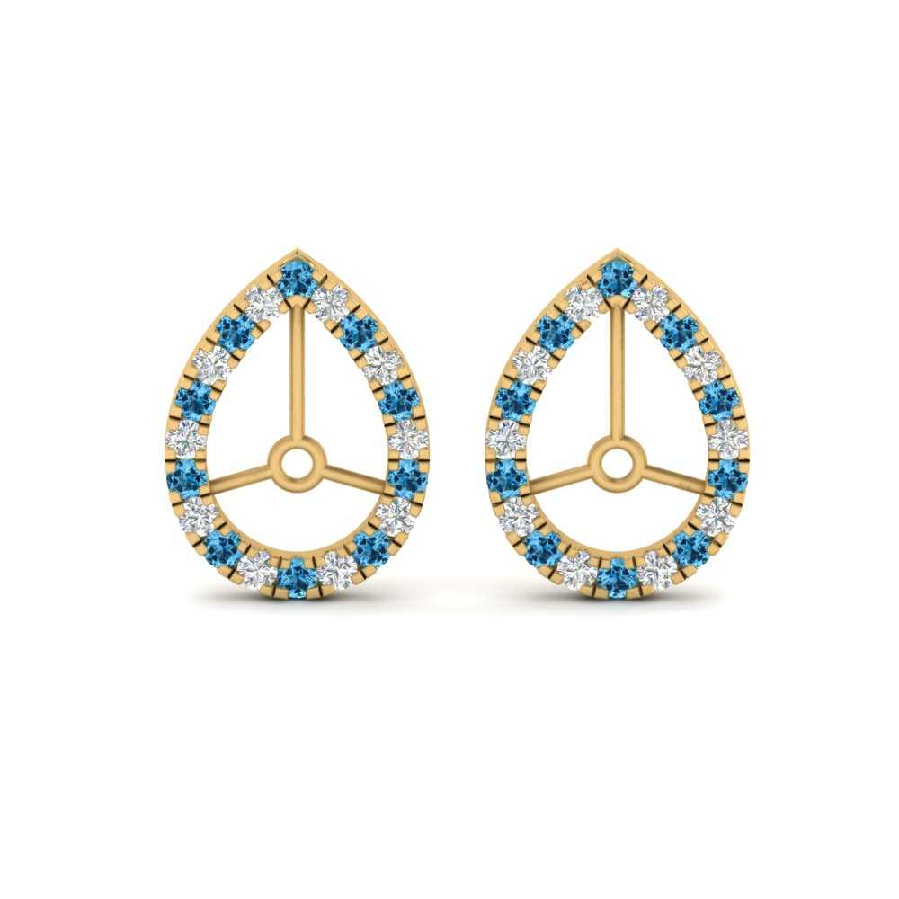 pear-halo-round-earring-jackets-with-blue-topaz-in-FDEARRO9677GICBLTO-NL-YG