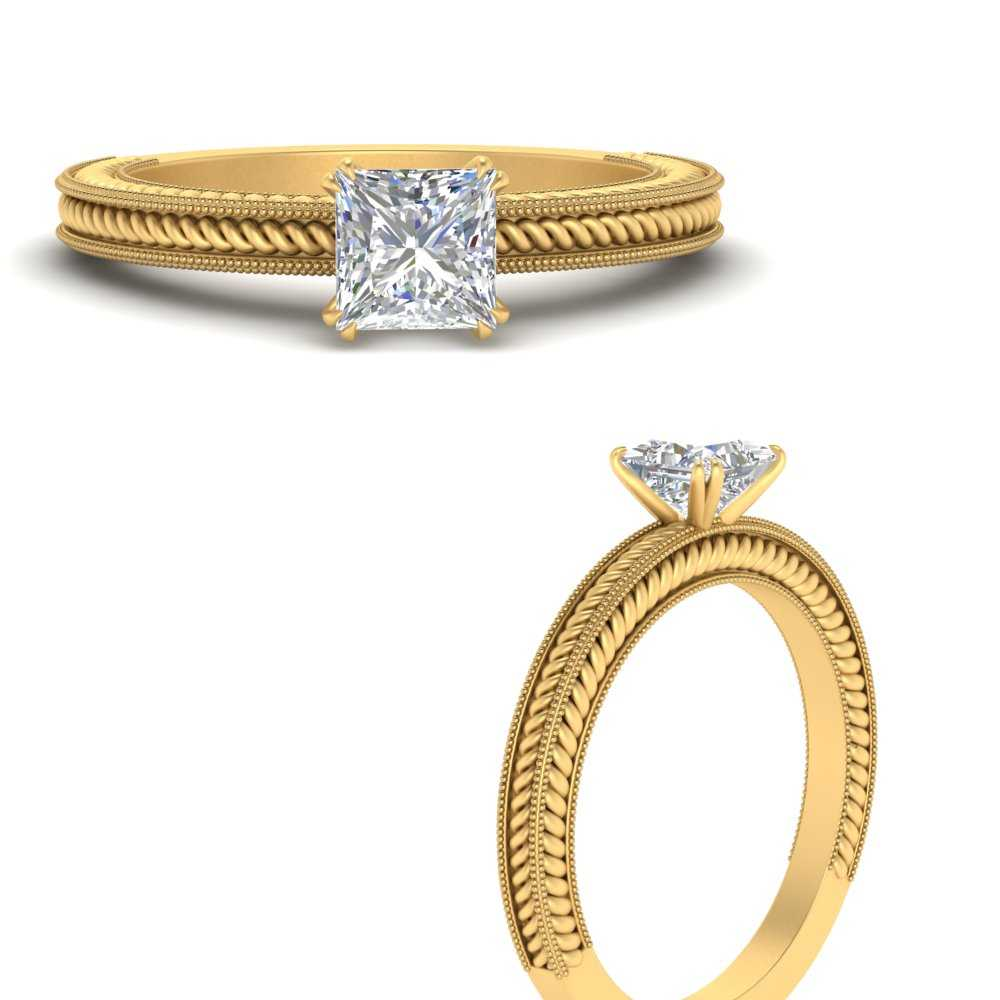 simple-rope-etched-princess-cut-solitaire-engagement-ring-in-FD121971PRRANGLE3-NL-YG