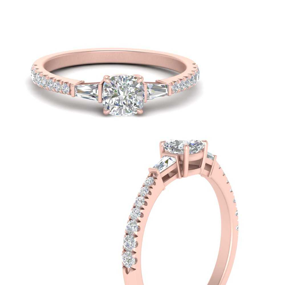 cushion-cut-french-pave-baguette-accented-lab diamond engagement-ring-in-FDENR1801CURANGLE3-NL-RG