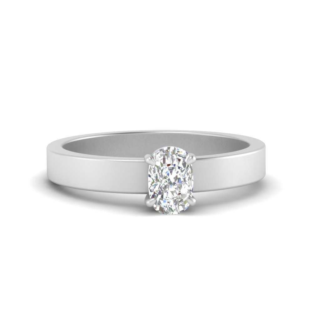 flat-band-simple-cushion-cut-solitaire-engagement-ring-in-FDENR1843CUR-NL-WG