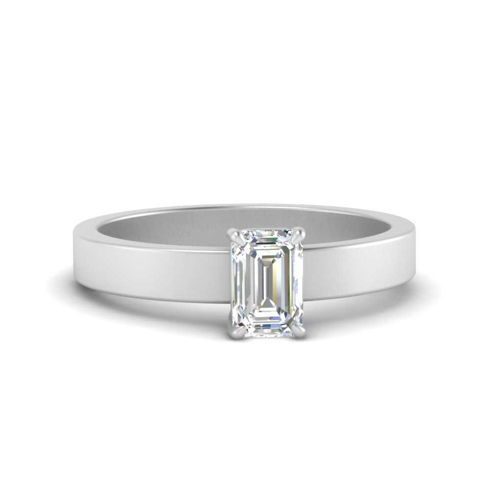 flat-band-simple-emerald-cut-solitaire-engagement-ring-in-FDENR1843EMR-NL-WG