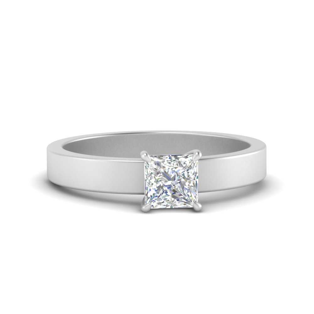 flat-band-simple-princess-cut-solitaire-engagement-ring-in-FDENR1843PRR-NL-WG