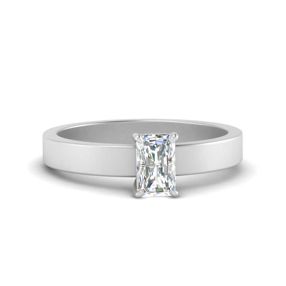 flat-band-simple-radiant-cut-solitaire-engagement-ring-in-FDENR1843RAR-NL-WG